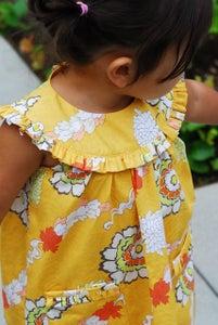 Image of Byronie Dress- Gold Carnation
