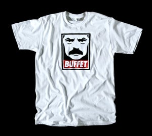 Image of Ron Swanson Obey the Buffet