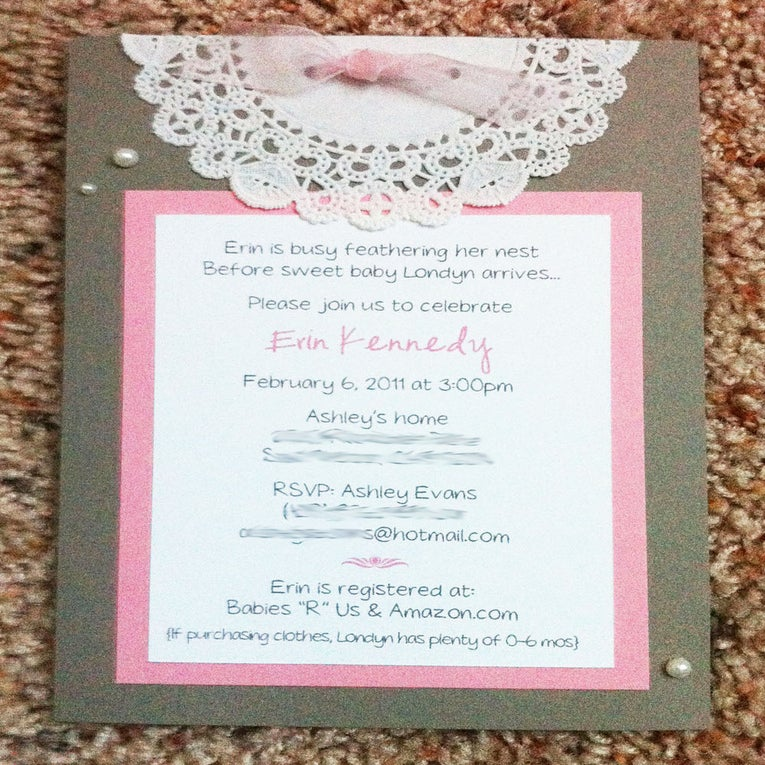 Custom Bridal Shower Invitations for your inspiration to make invitation template look beautiful