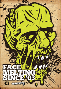 Image of The Face Melter Print