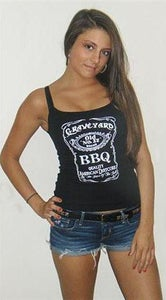 Image of BBQ GIRLZ Ladies-Tank (spaghetti strap)