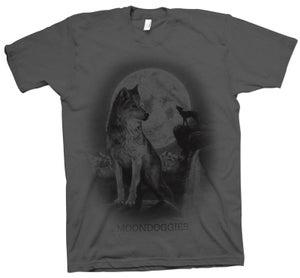 Image of Wolf T-Shirt - Gray