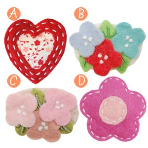 Image of little girl hair clips #11