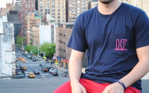 Image of Hype Floats American Apparel 50/50 Pocket T-Shirt