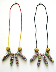 Image of Spike Necklace (red)