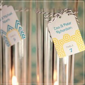 Image of Escort Card Tags {style 2}