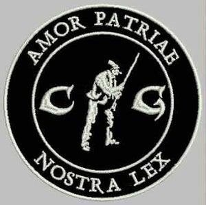 Image of Patch - Amor patriae nostra lex