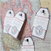 Image of Escort Card Tags {style 1}