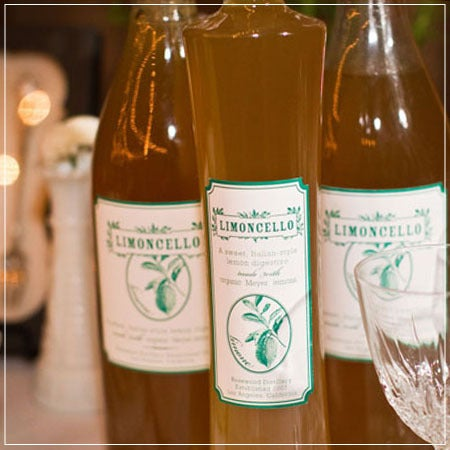 U U Design Limoncello Labels