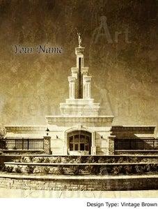Image of Columbia River Washington LDS Mormon Temple Art 001 - Personalized Temple Art