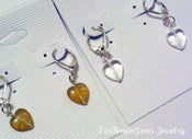Image of Lil Plump Heart Earrings
