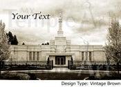 Image of Spokane LDS Mormon Temple Art 001-Personalized LDS Temple Art