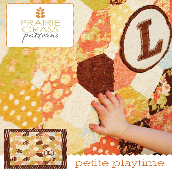 Image of Petite Playtime: Quilting Pattern #107