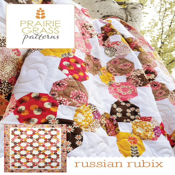 Image of Russian Rubix: Quilting Pattern #111
