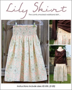 Image of The Lily Skirt - PDF Sewing Pattern