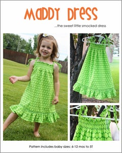 Image of The Maddy Dress PDF Sewing Pattern