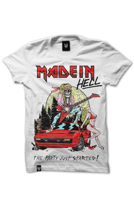 Image of MAIDEN HELL (White)