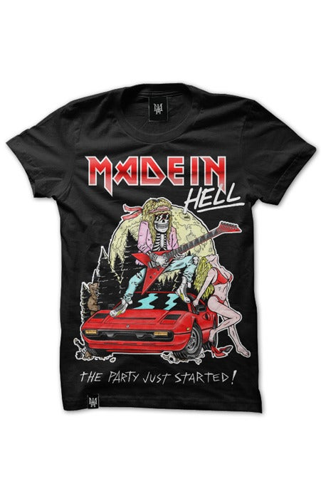 Image of MAIDEN HELL (Black)