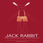 Image of PDF Sewing Pattern - Jack Rabbit