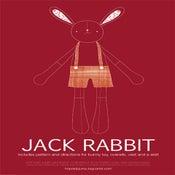 Image of PDF Sewing Pattern - Jack Rabbit
