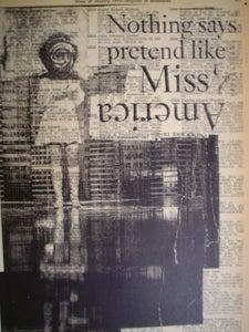 Image of miss america print