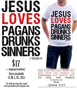 Image of Jesus Loves...Tee