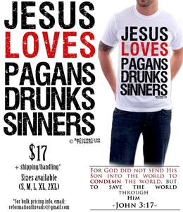Image of Jesus Loves...Tee