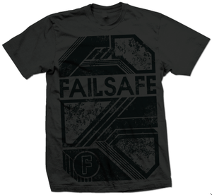 Image of Failsafe - Charcoal Tee