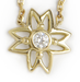 Image of Diamond Flower Necklace