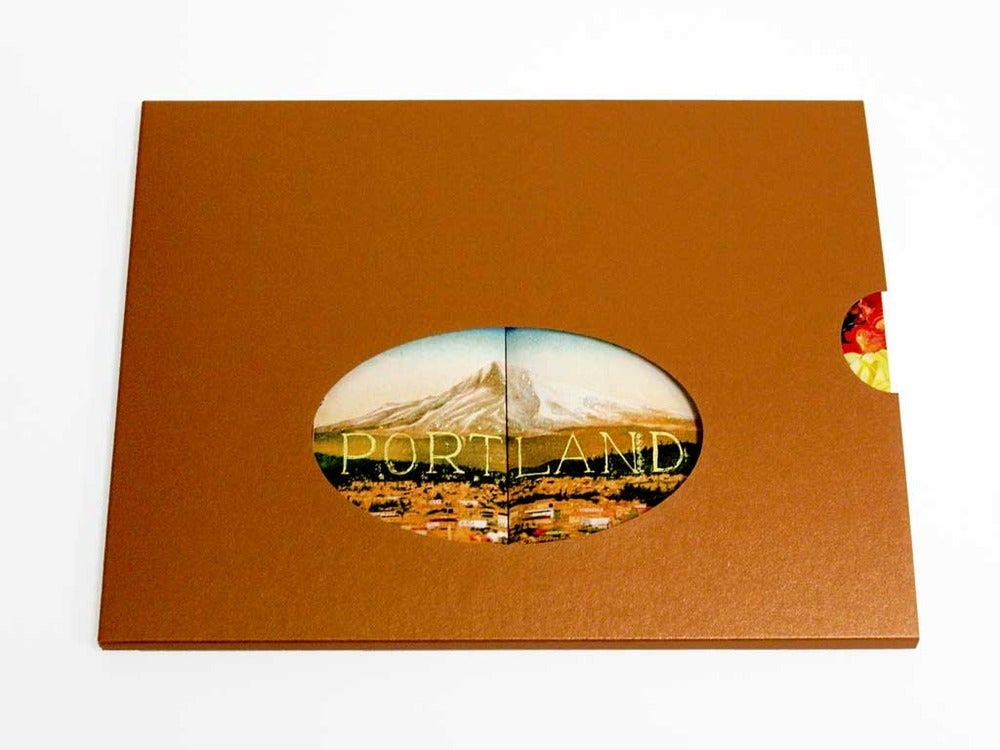 Image of Portland Tunnel Book: A visit to Portland on your desk