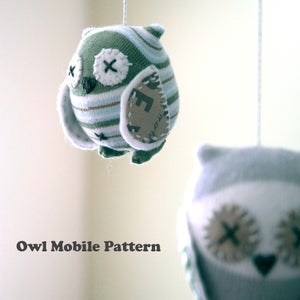 Image of Owl Mobile e-Pattern