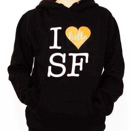 Image of I Hella Heart SF Hoodie