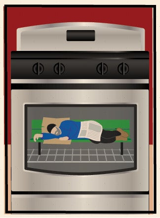 Image of Bum in the Oven