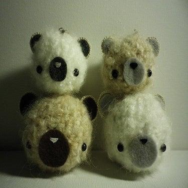 mon amis furry teddy bear keychain. Black Bedroom Furniture Sets. Home Design Ideas