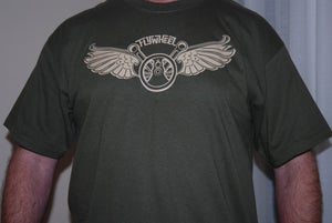 Image of Olive Green Tees in stock