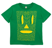 Image of Marcus Oakley kid's t-shirt green