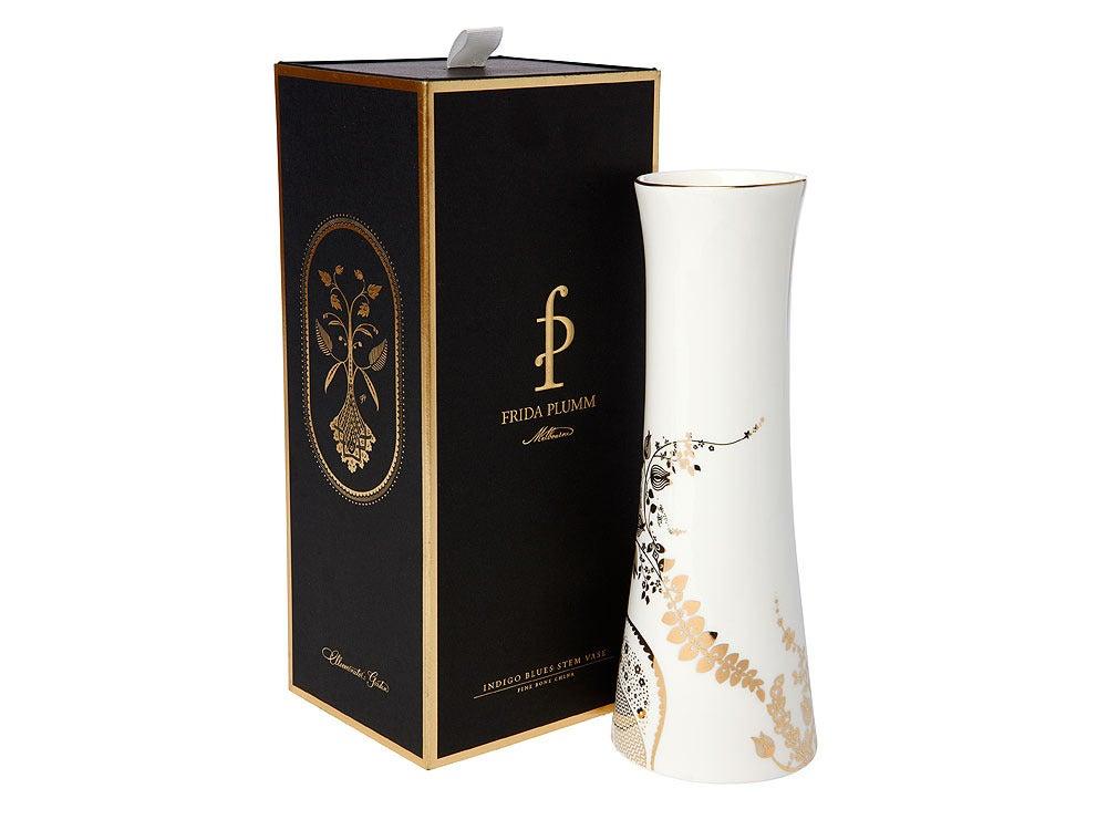 Image of Stem Vase (Indigo Blues Collection)