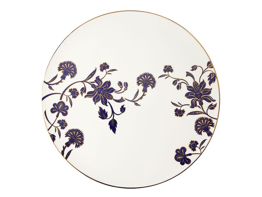 Image of Cake Plate 'Ananda' (Indigo Blues Collection)