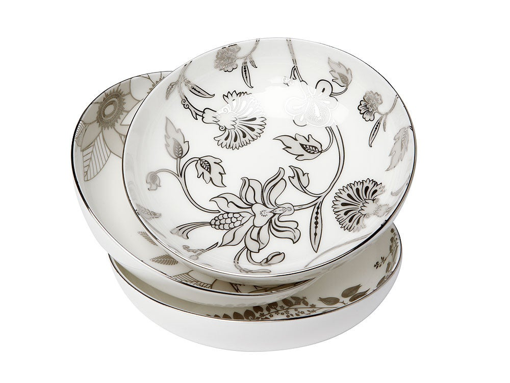 Image of Petite Bowls - Set of 3 (Lucent Blooms Collection)