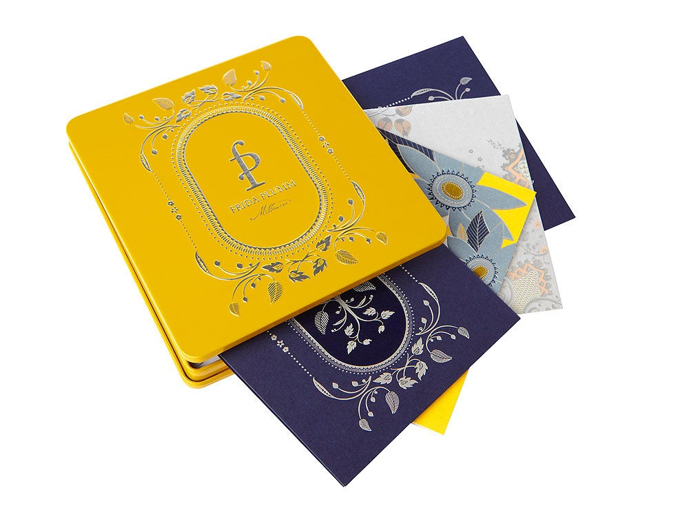 Image of Gift Cards - 8 cards (Yellow Tin)