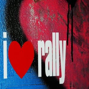 Image of I Love Rally Sticker