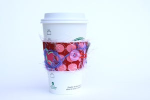 Image of Cup Cozy - Amy Butler design