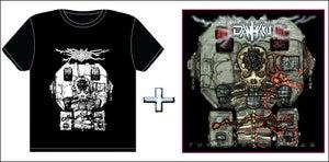 Image of Danmaku - Turn Up The Gas CD/Tshirt Combo