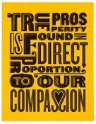 Image of Compassion Poster