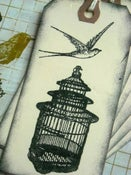 Image of Bird n Cage Tags - 6