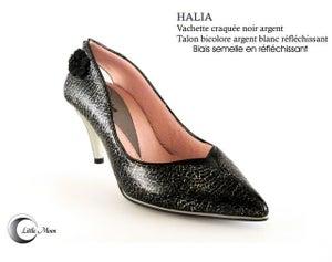 Image of HALIA Noir Argenté