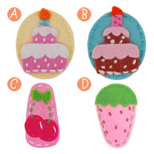 Image of little girl hair clips #21