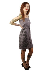 Image of Sailor Jerry: Button Down Ship Dress