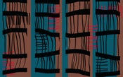 Image of Bamboo 1 (Digital print on cotton twill)