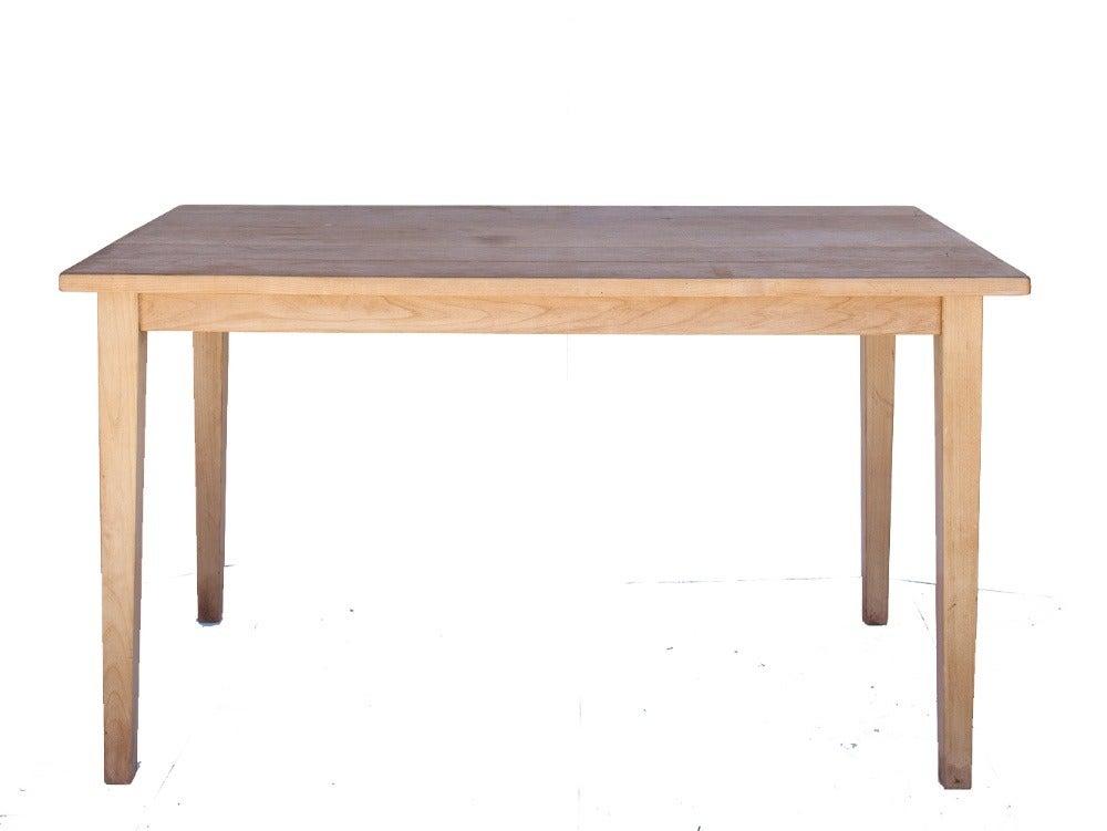 Kmi custom farm house kitchen table kathryn ireland shop - Custom kitchen table ...